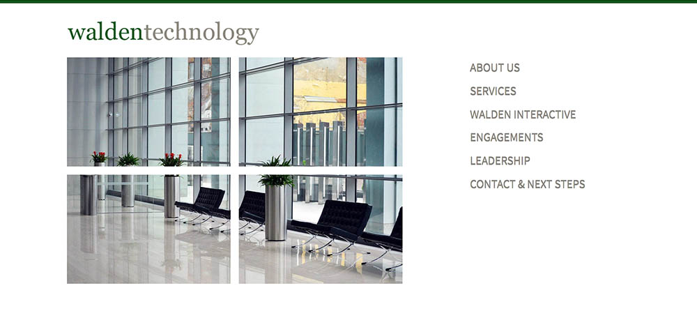 Walden Technology Group Website