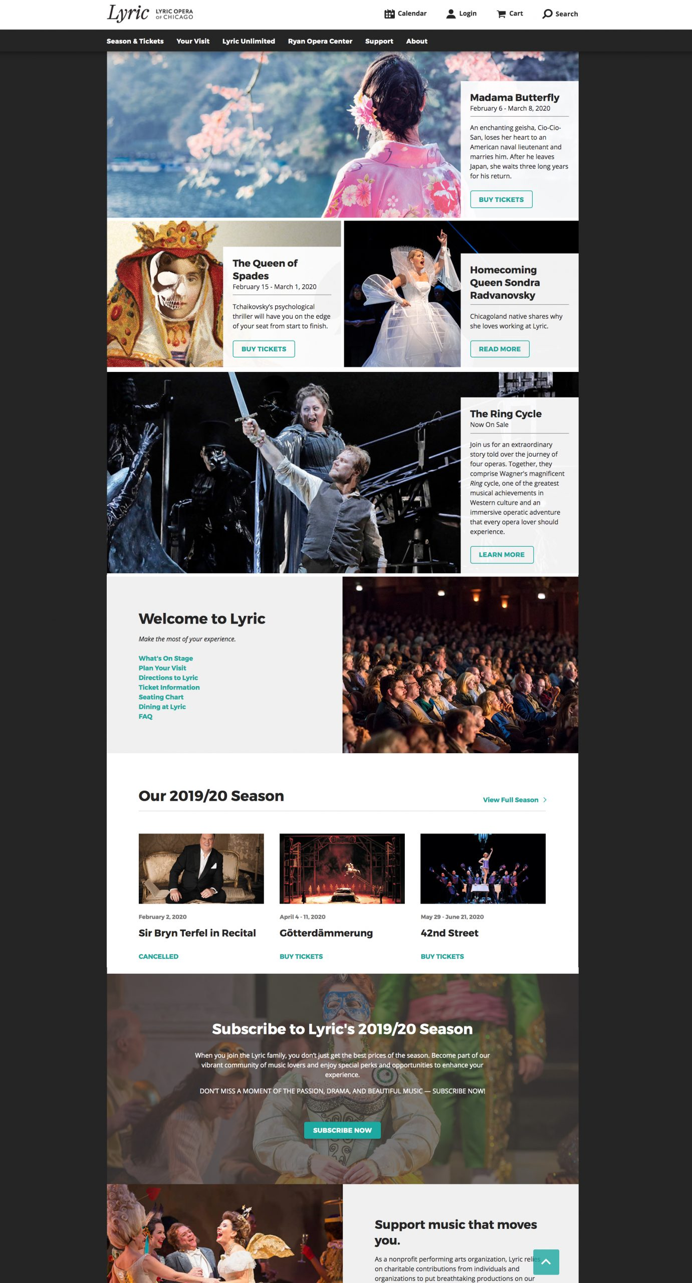 Lyric Opera Homepage - NEW